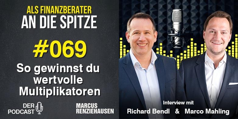 Marcus Renziehausen - Als Finanzberater an die Spitze Podcast